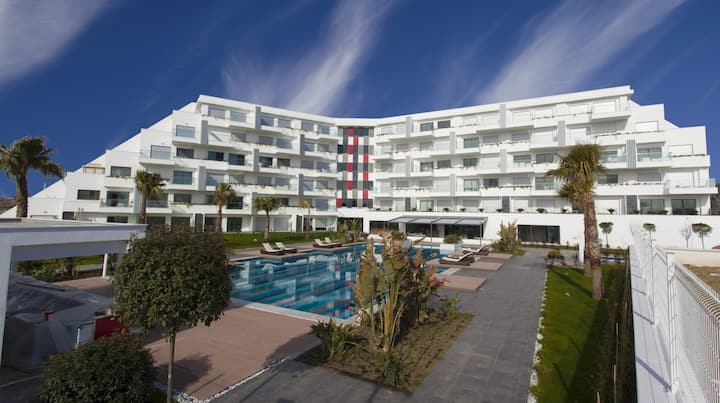 1+1 apartment with pool view in Q spa resort