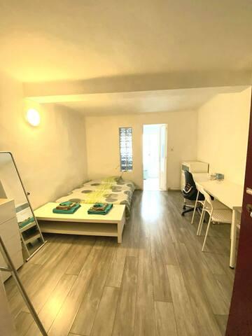 Studio meublé, 21 m² centre ville Aix en Provence