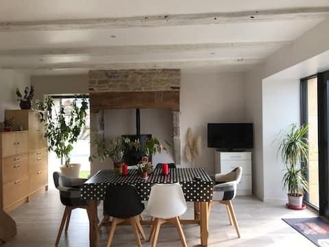 Maison de village au cœur de L'Aveyron