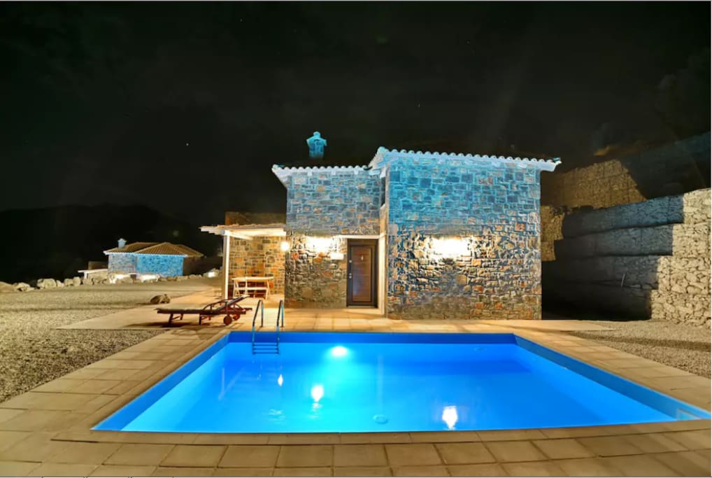 Palazzo Greco Villas enjoy the view from the swimming pool