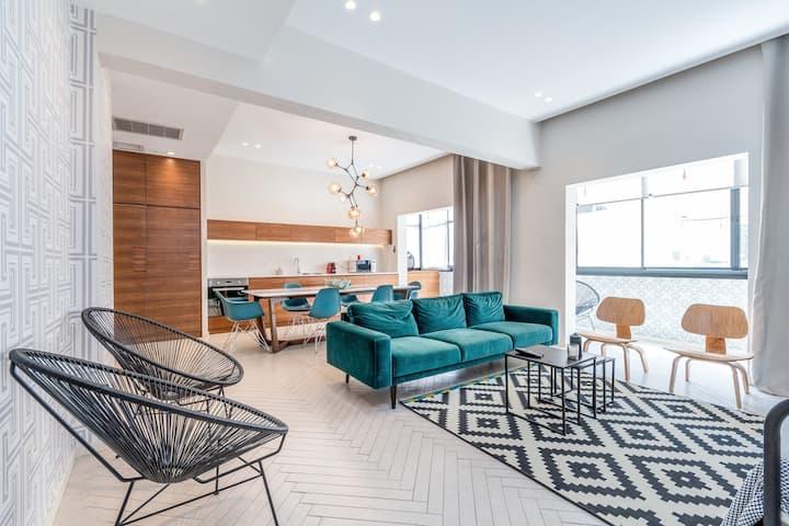 Bograshov area - Amazing 1BR architect apartment