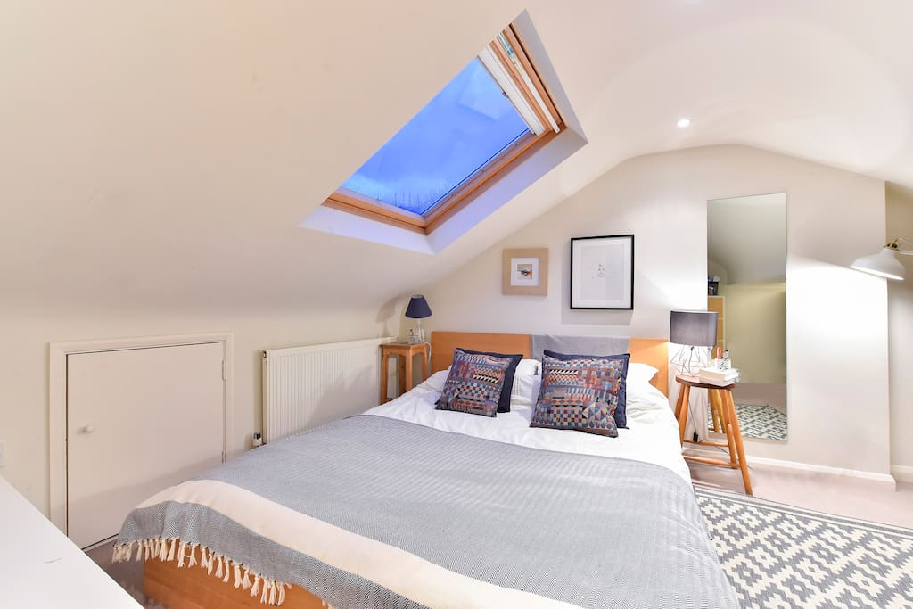 Bedroom 1 has a very comfortable double bed