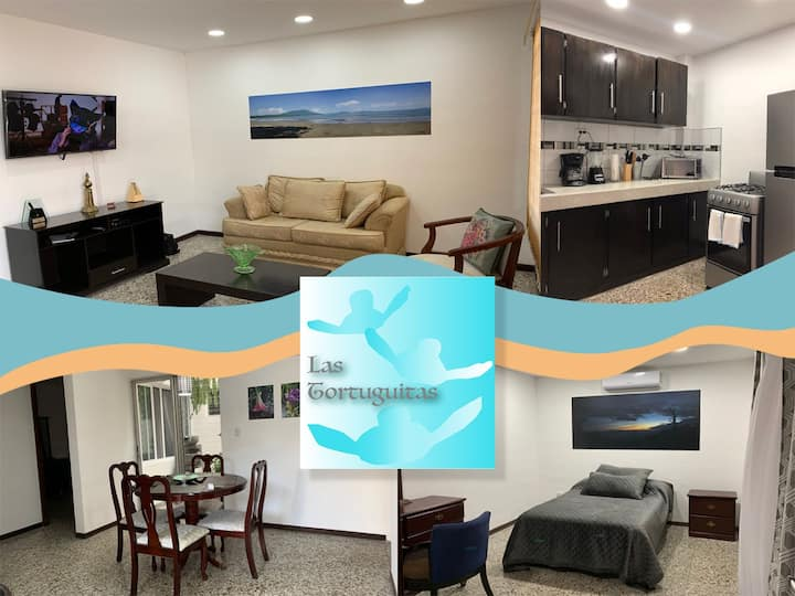 Col Maquilishuat, A/C, W/D, WiFi, Parking, Secure