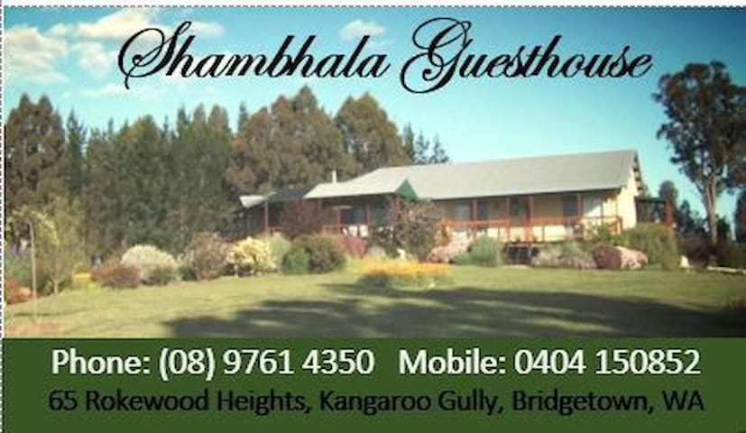 Shambhala Guesthouse - Kangaroo Gully - Bed & Breakfast