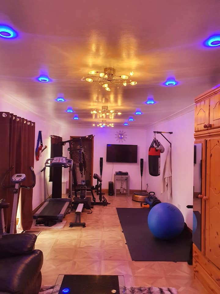 Luxury Unique Home with Gym - 15min Central London
