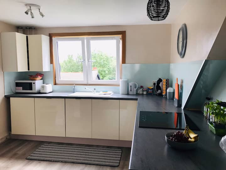 A Wee Pad in Dunfermline  Modern and open plan