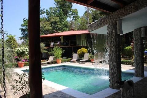 """The Quiet Mind"" at Casa Nene's jungle retreat"