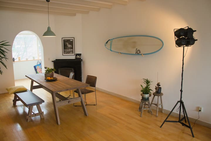 Cosy and spacious apartment close to the beach
