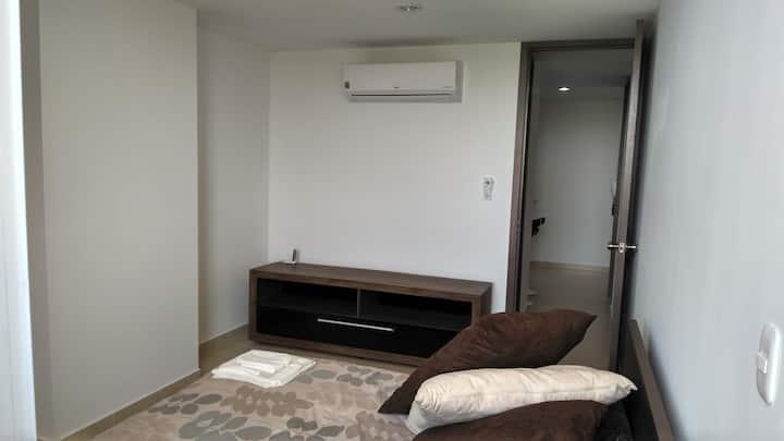 Single room apartment w/parking