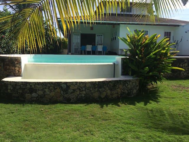 Villa bord de mer - Rio San Juan - Huvila