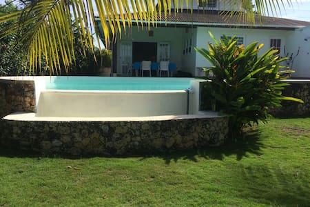 Villa bord de mer - Rio San Juan