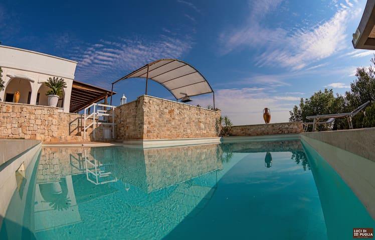 Luci di Puglia un balcone sulla valle d'itria