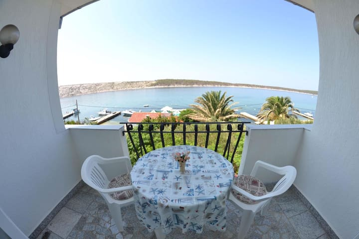 Apartments Matušan / One Bedroom A7 - Rab - Daire