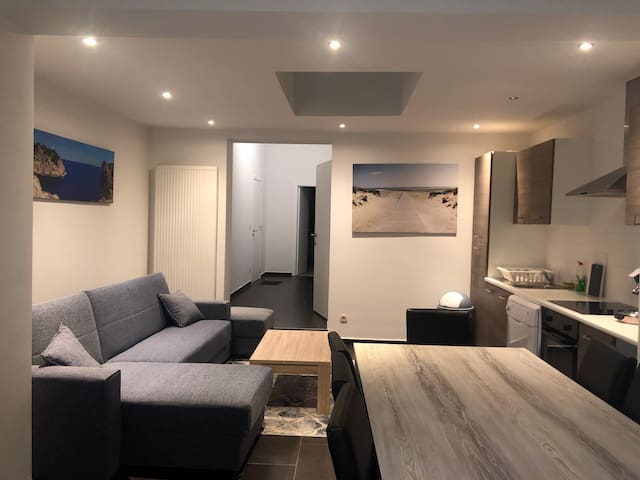 Cozy brand new appartement in the Brussels city