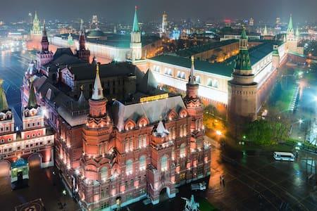20 минут на метро Кремль, Большой театр, Арбат. - Moskva
