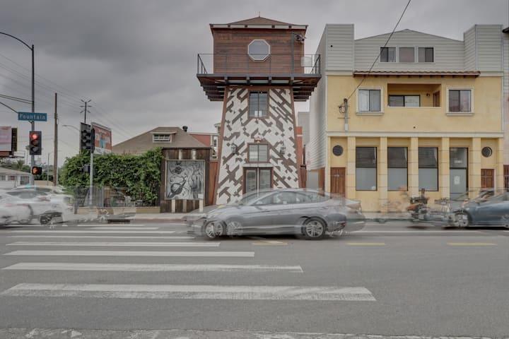 Tower House, a new East Hollywood Landmark