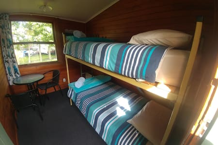 Deluxe Twin Cabin at Waiau Motor Camp