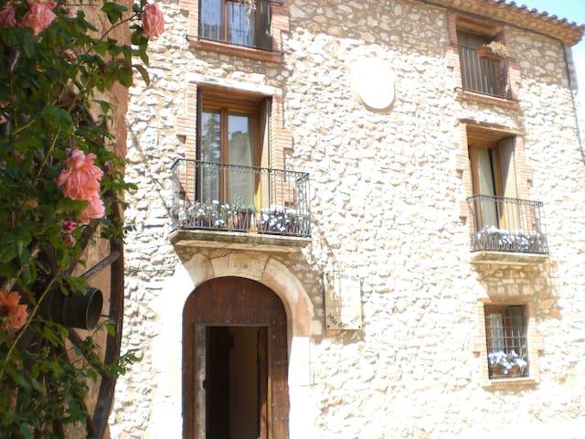 La casa del mas d'en Toni- El Noguer - Farena - Farena - Kondominium
