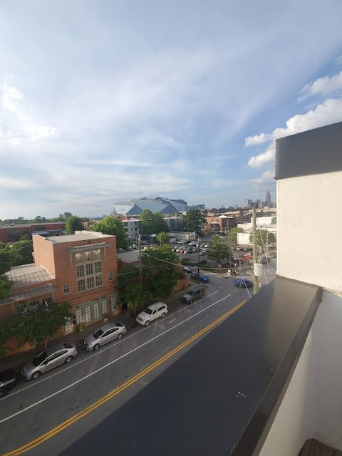 Downtown Atlanta loft with private Rooftop