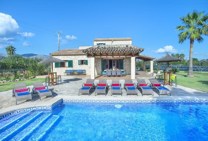 Splendide Villa Troy avec Immense Piscine, un Joyau  Méditerranéen