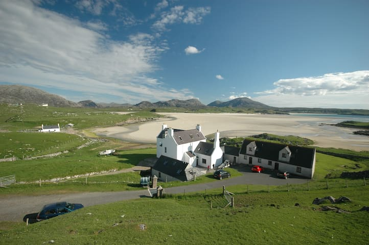 Cottage at Baile na Cille, right by Uig Sands.