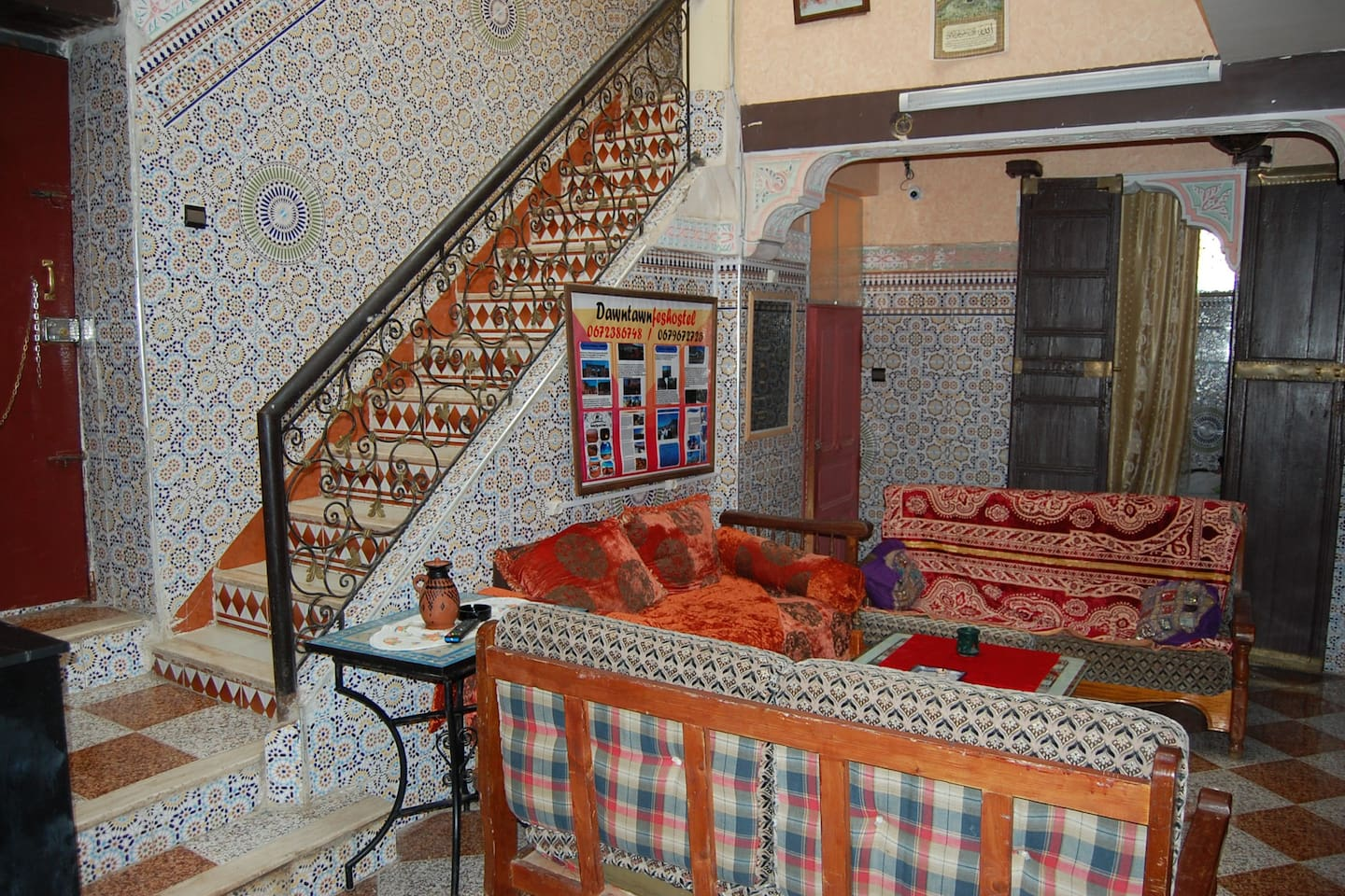 private room in down town fez hostel