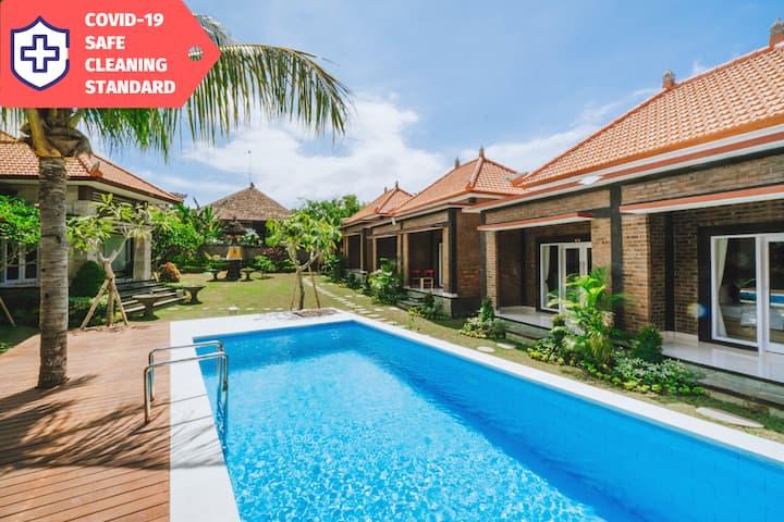 Authentic Balinese Cabin near Beach | STERILIZED
