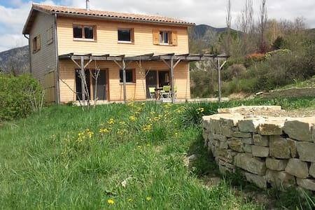 Maison bois, soleil et nature. - Francillon-sur-Roubion