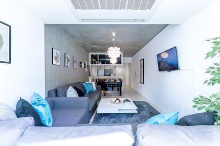 ROPPONGI Hills 5min +LUXURY & SPACIOUS FLAT+ TOKYO - Minato-ku - Apartment