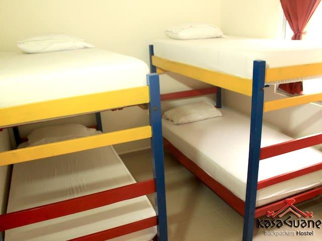 4 Bed Mixed Dorm - Bucaramanga - Dormitorio compartido
