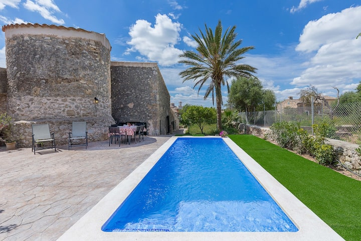 Villa Es Molí Can Torres: Superb house with pool