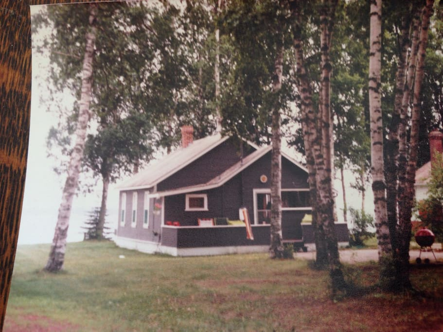 Photo - (of a photo) of the camp.