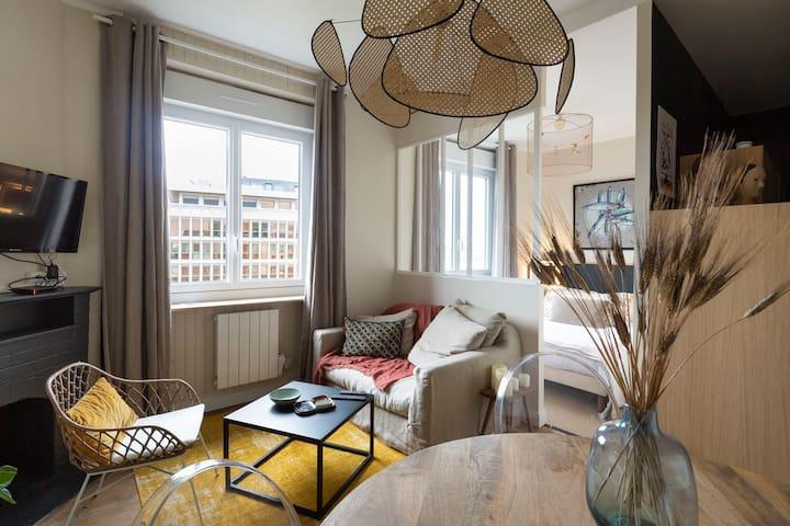 Appartement vue bassin et INTRAMUROS