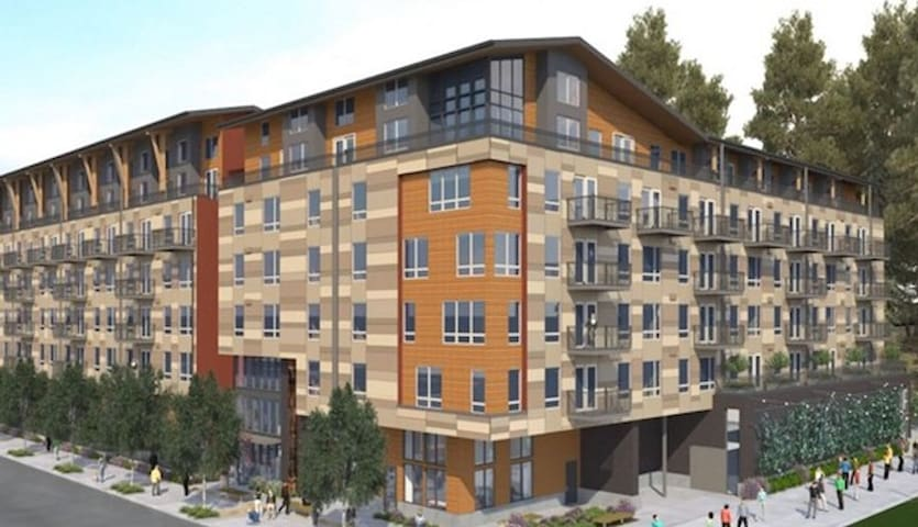 New luxury apartment community in downtown Redmond