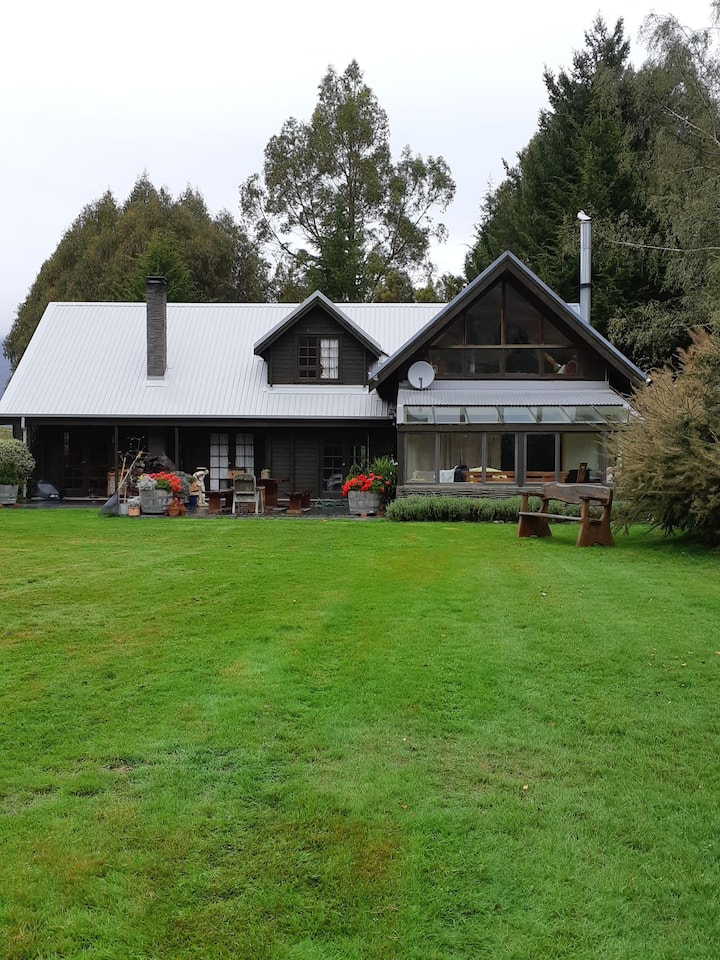 Country house with mountain view