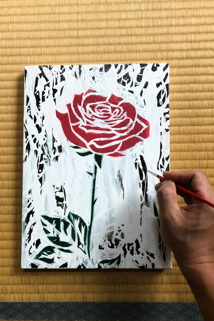 You can make your original painting.