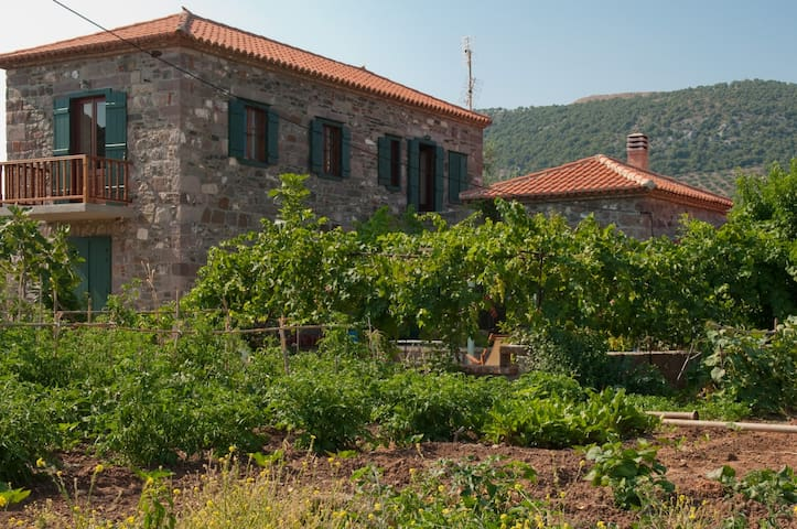 TRADITIONAL STONE HOUSE IN GAVATHAS