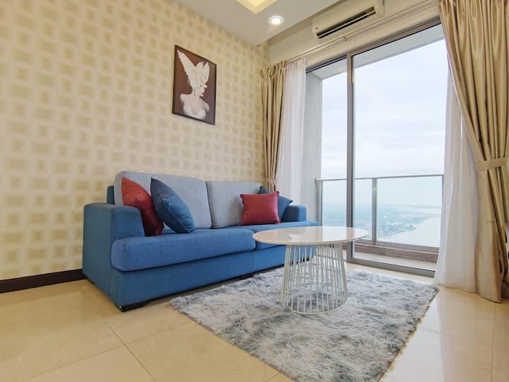 2 Bedroom Suites [Rare Seaview&Tv Box]@Melaka Town