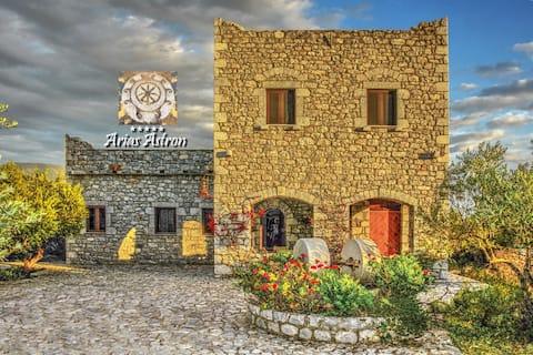 Arias Astron - villa in Mani - Peloponnese
