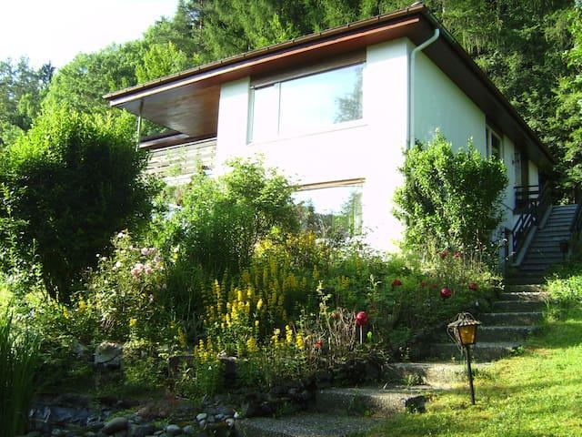 Ferien-Wohnung mit schönem Talblick - Egloffstein - Pis