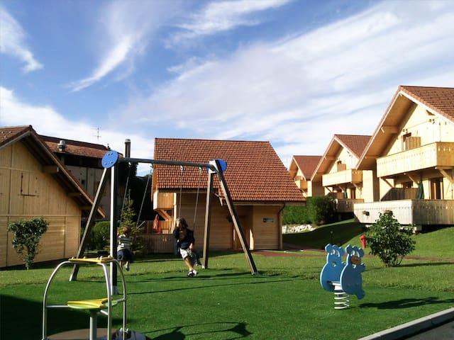 Aire de jeux dans le complexe