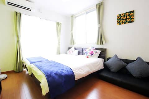 #4 Central Town! COZY STUDIO apt. with City View