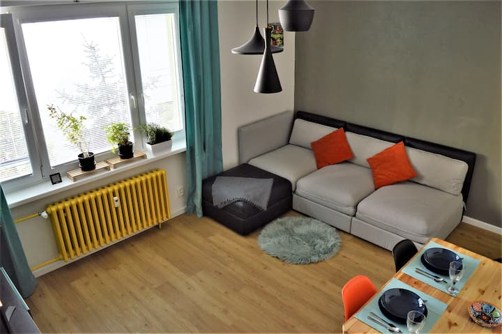 Cosy apartment near city center in quiet area