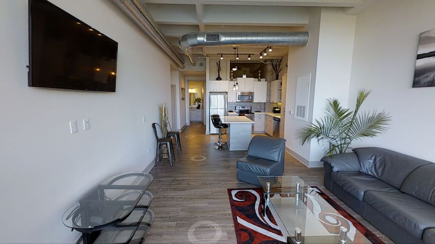 Comfy-Luxurious Downtown Loft style apartment - Atlanta - Apartment