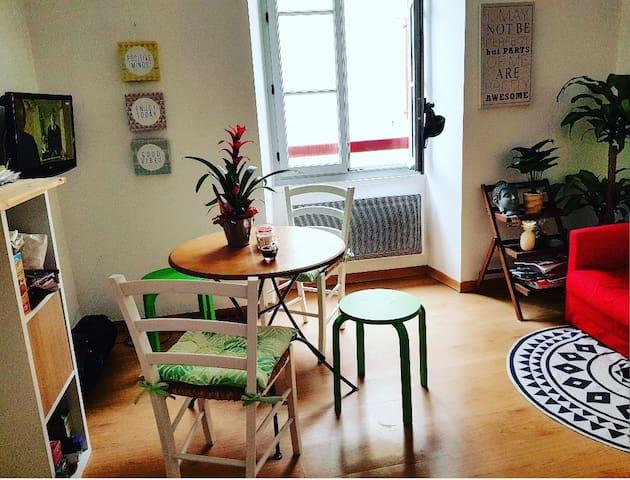 Appartement cosy en bord de mer – plein centre