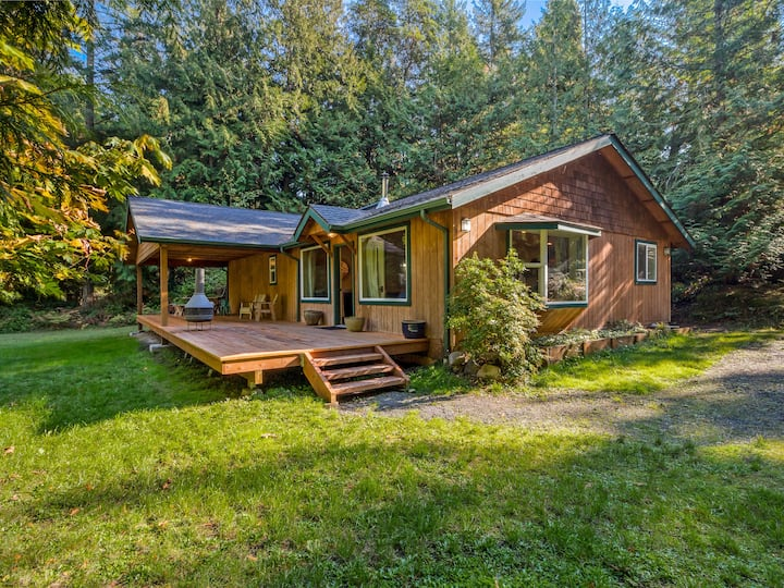 NEARLY 2 ACRES OF SECLUSION NEAR ROCHE HARBOR!