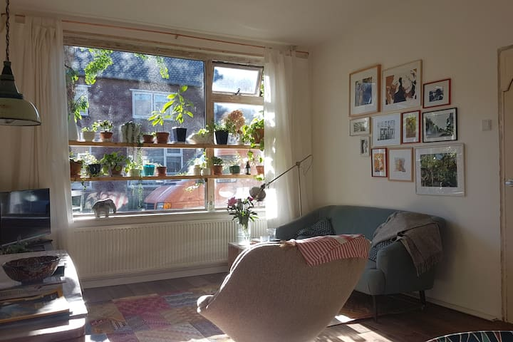 Cosy house with garden (incl Bike)