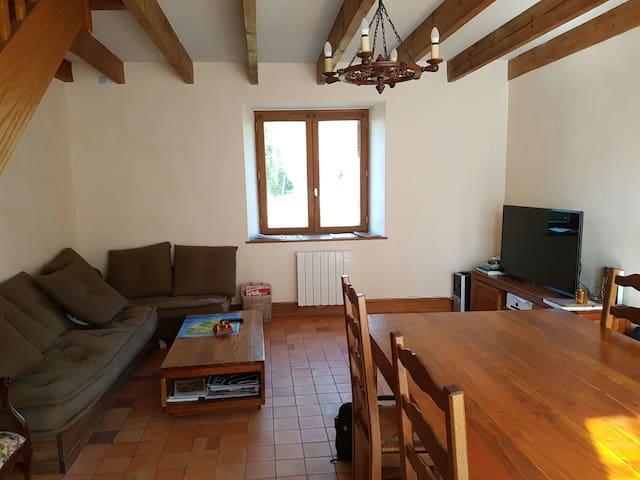 Chambre privée dans maison en pierre à la campagne - Yffiniac - Rumah