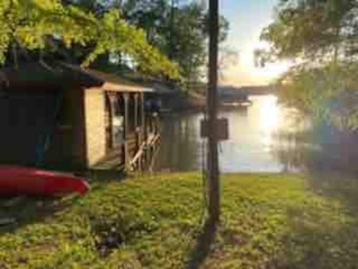 Base Camp on Lake Sinclair