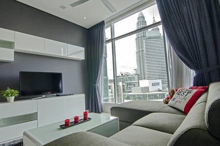 2b Cozy flat,5 mins walk to KLCC - Kuala Lumpur - Bed & Breakfast